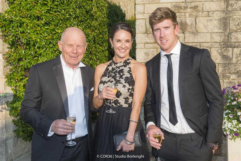 Grant Dalton, CEO Emirates Team New Zealand Peter Burling, Helmsman Emirates Team New Zealand - America's Cup Hall of Fame Induction, Royal Yacht Squadron, Cowes IOW, August 31, 2018 - photo © Carlo Borlenghi