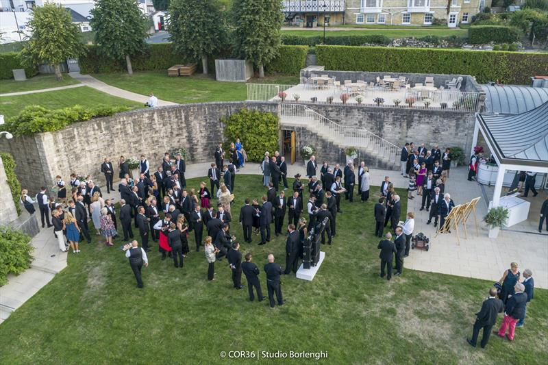Hall of Fame Induction - Royal Yacht Squadron - America's Cup Hall of Fame Induction, Royal Yacht Squadron, Cowes IOW, August 31, 2018 - photo © Carlo Borlenghi