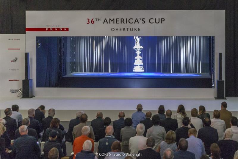 Hologram - America's Cup Overture - photo © Carlo Borlenghi