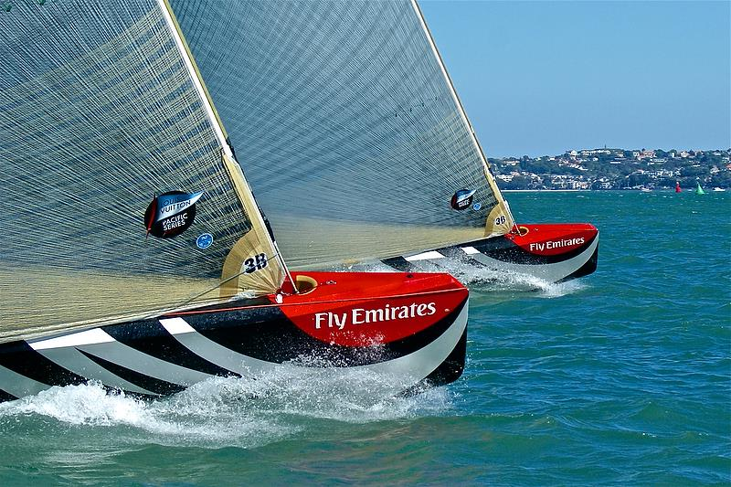 Louis Vuitton Pacific Series - Racing on 2021 America's Cup Course `C` - photo © Richard Gladwell