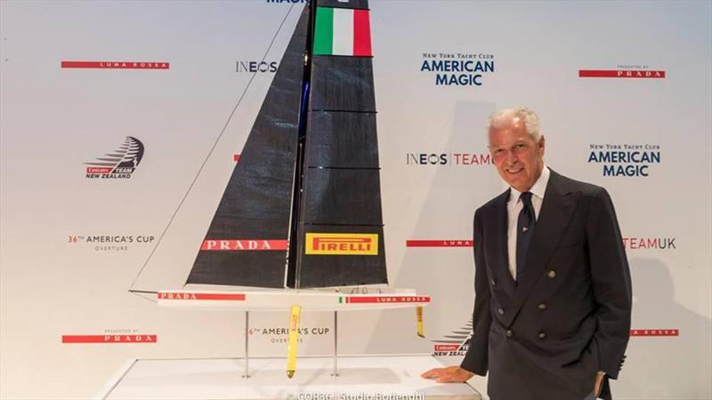 Pirelli CEO Marco Tronchetti Provera. Pirelli are now a joint sponsor of Luna Rossa - photo © La Stampa