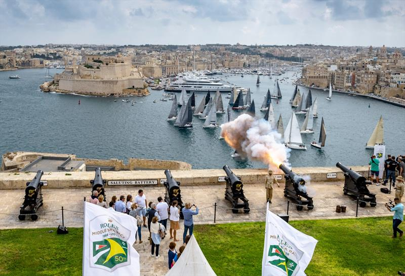 Royal Malta Yacht Club is the host for the Rolex Middle Sea Race, which celebrated its 50th anniversary in 2018 - photo © Rolex / Kurt Arrigo