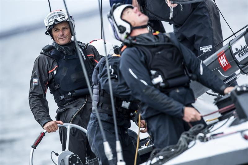 Dean Barker - Fifth day of AM38 sailing in Pensacola, Florida. - photo © Amory Ross