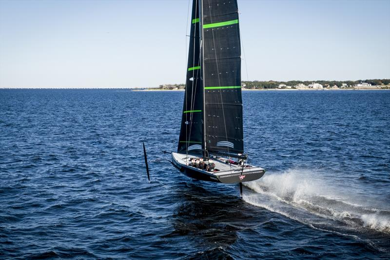 AM38 - American Magic - First day of sailing in Pensacola, Florida. - photo © Amory Ross