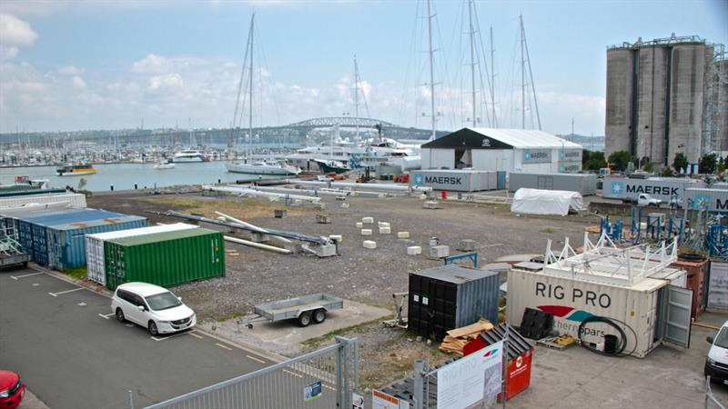 Site 18 which will become part of a super yacht servicing facility separate from the America's Cup base development - America's Cup bases - January 30, 2019 - photo © Richard Gladwell