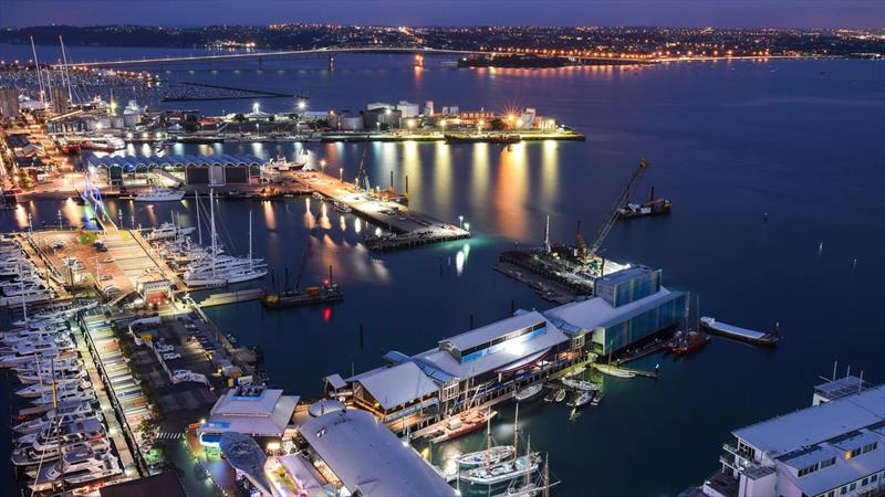 Viaduct Harbour and Wynyard Point, venue for the 36th America's Cup, Auckland, New Zealand - photo © Wynyard Edge Alliance
