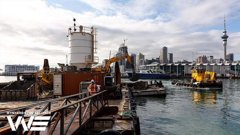 The Pugmill - Wynyard Point - America's Cup base development - Wynyard Edge Alliance - Update March 28, 2019  - photo © Wynyard Edge Alliance