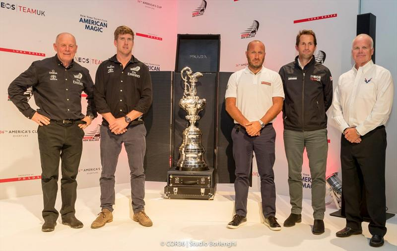 The Three Super Teams Challenging for the 2021 America's Cup are expected to form one of the most formidable Challenger group in history - America's Cup  - photo © Luna Rossa / Carlo Borlenghi