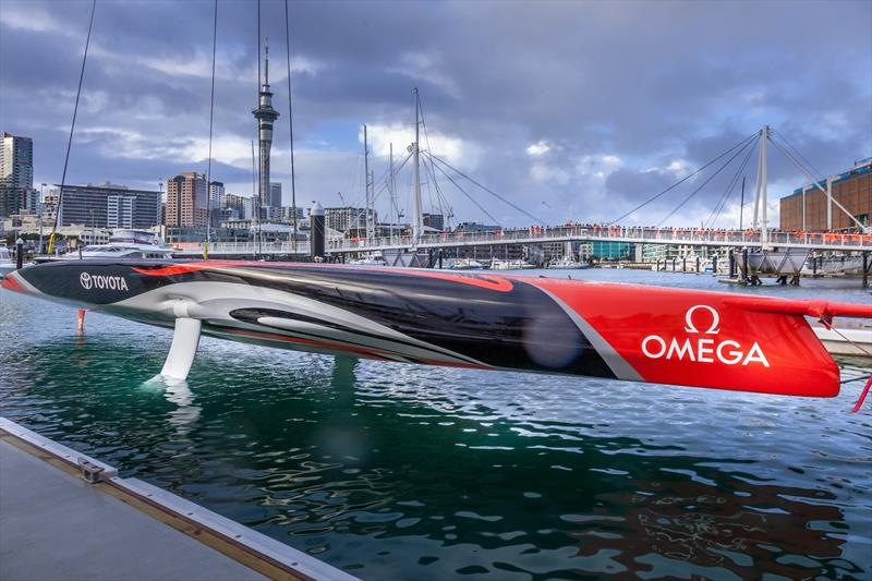America's Cup: Emirates Team New Zealand christen their first AC75