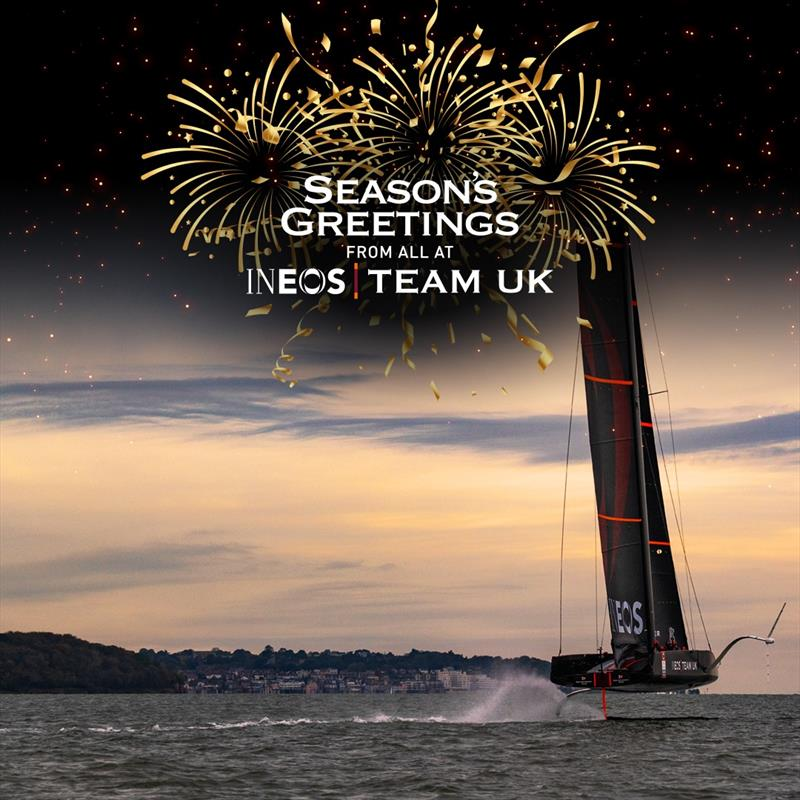 Season Greetings from INEOS Team UK photo copyright Harry KH / INEOS TEAM UK taken at Royal Yacht Squadron and featuring the ACC class