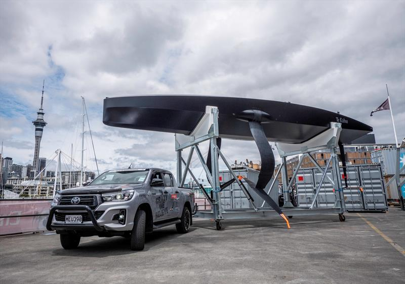 Emirates Team New Zealand launch their test boat Te Kahu in Auckland - January 22, 2020 - photo © Emirates Team New Zealand
