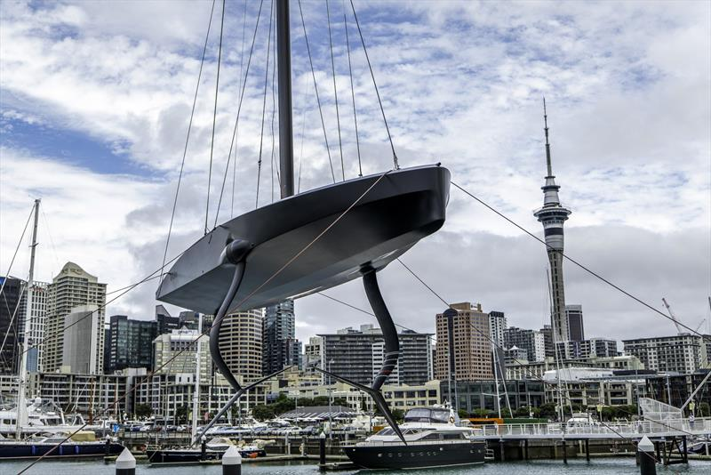Emirates Team NZ's Te Kahu is launched in Auckland - January 2020 - photo © Hamish Hooper / ETNZ