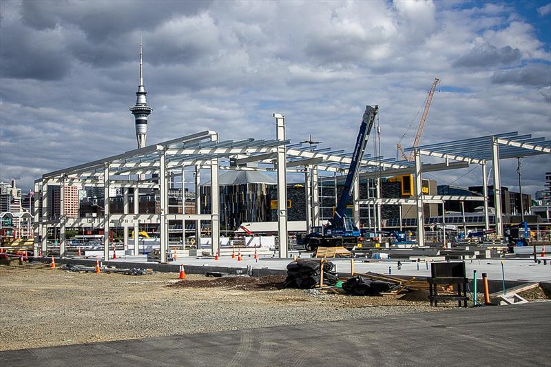 INEOS Team UK base construction - March 2020 - photo © Richard Gladwell, Sail-World.com / nz