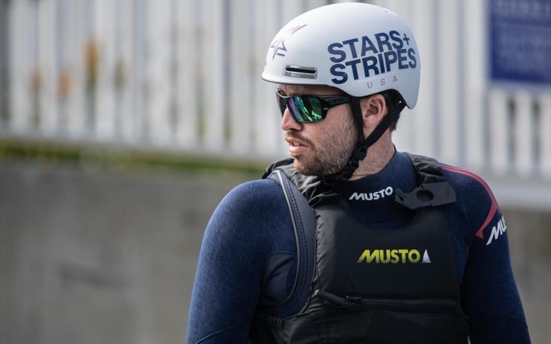 Taylor Canfield - Skipper Stars   Stripes Team USA - photo © Matt Knighton