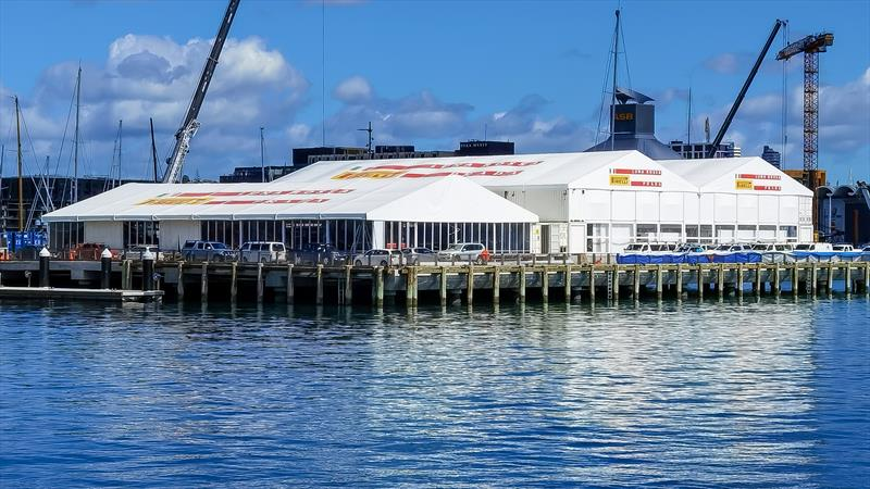 Luna Rossa bases - Auckland - September 11, 2020 - 36th America's Cup - photo © Richard Gladwell / Sail-World.com