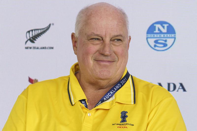 Iain Murray (Regatta Director) - Media Conference - Prada Cup - Auckland - January 14, 2021 - 36th America's Cup presented by Prada - photo © Carlo Borlenghi / Luna Rossa