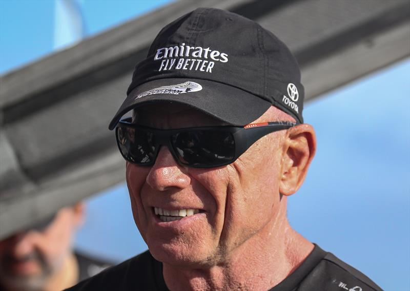 Grant Dalton soon after winning the 36th America's Cup - March 17, 2021 - photo © Richard Gladwell / Sail-World.com
