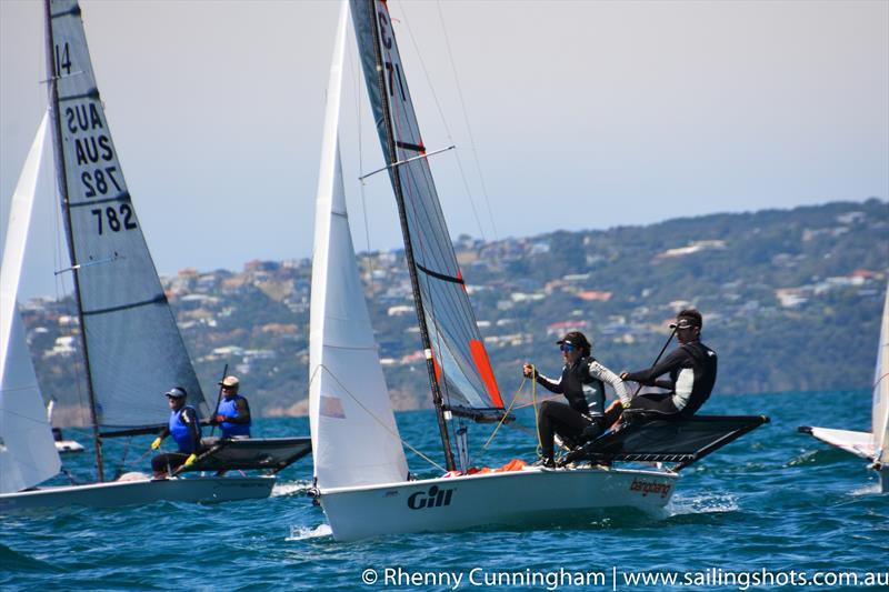 B14 World Championships on Port Phillip Bay - photo © Rhenny Cunningham / www.sailingshots.com.au