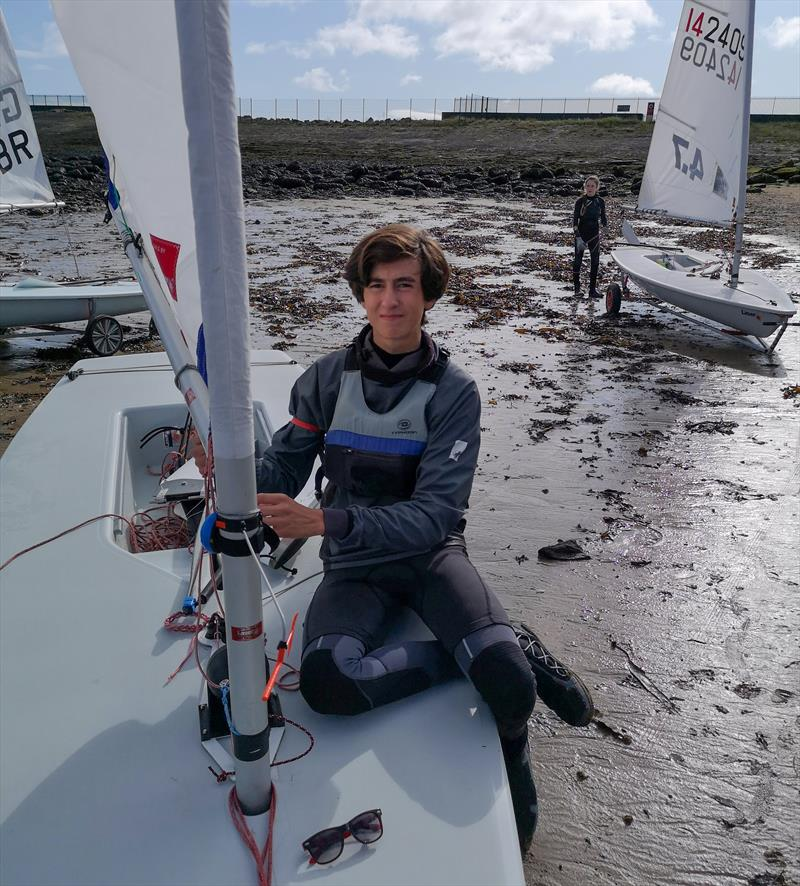 Harry Newton will become a Barton Marine brand ambassador in 2021 photo copyright Barton Marine taken at Whitstable Yacht Club and featuring the  class