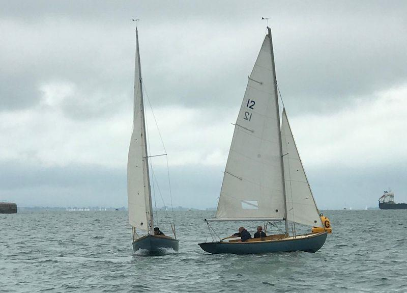 July racing for the Bembridge One-Designs - photo © Jim Conybeare-Cross