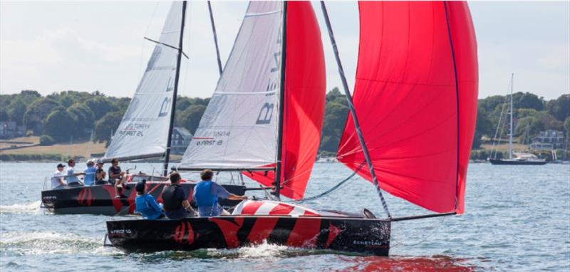 Legendary racing yacht makes big comeback with four new firsts!