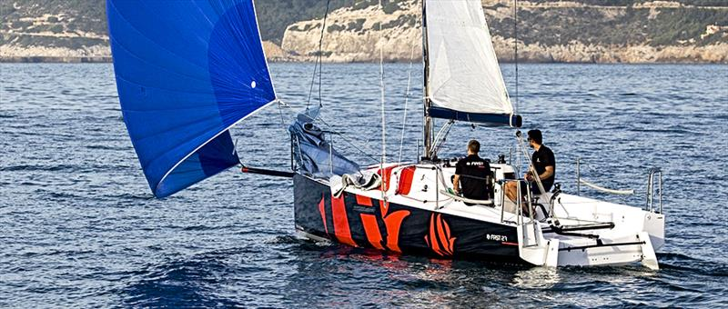 The new First 27 sailing - hot tip for the Olympic offshore keelboat - photo © Fare Vela