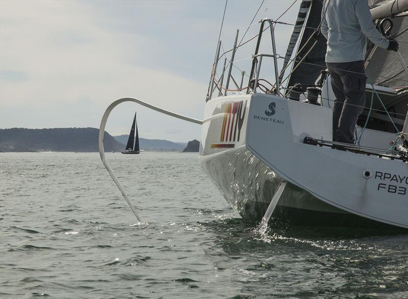 Yes indeed. it is most certainly my old friend - Beneteau's Figaro 3 - photo © John Curnow