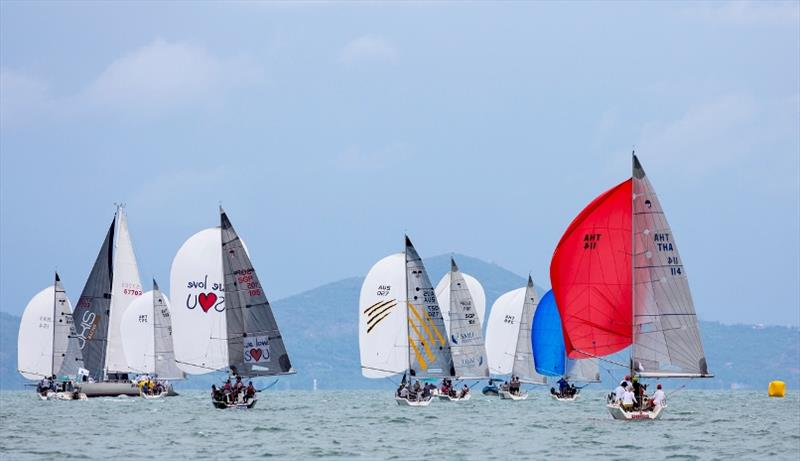 Still plenty to play for in the Platu Class - photo © Guy Nowell