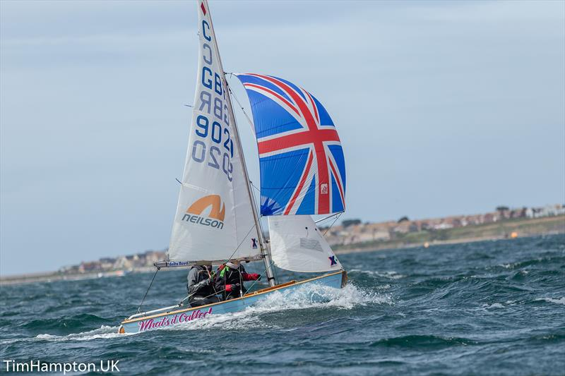 Zhik Cadet Alf Simmond Trophy at Weymouth - photo © Tim Hampton / www.timhampton.uk
