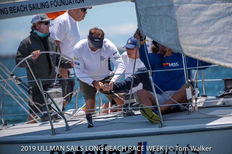 Ullman Sails Long Beach Race Week day 1 - photo © Tom Walker