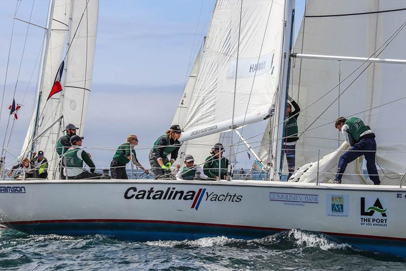 Univ Hawaii - 2018 Port of Los Angeles Harbor Cup - Day 3 - photo © Bronny Daniels/Joysailing