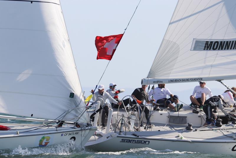 Congressional Cup - Day 2, Long Beach Yacht Club, April 19, 2018 - photo © Bronny Daniels