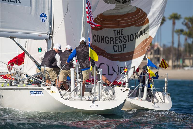 Congressional Cup - Day 2, Long Beach Yacht Club, April 19, 2018 - photo © Sharon Green / ULTIMATE SAILING