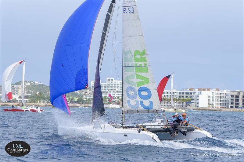 Enola, winner of Yacht Club Port de Plaisance Race Day 1 on Caribbean Multihull Challenge day 1 - photo © Edward Penagos