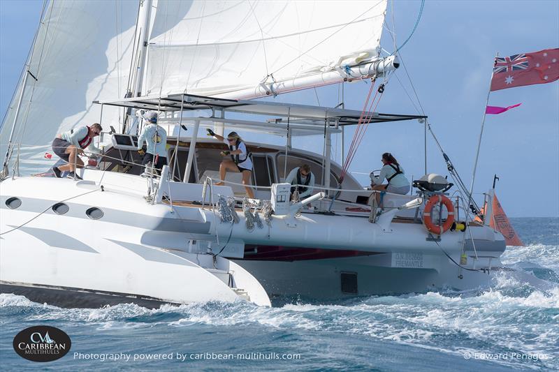 Jetwave Avalon on Caribbean Multihull Challenge day 2 - photo © Edward Penagos
