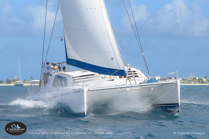 Seaduction on Caribbean Multihull Challenge day 2 - photo © Edward Penagos