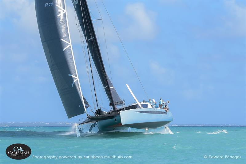 Nemo on Caribbean Multihull Challenge day 2 - photo © Edward Penagos