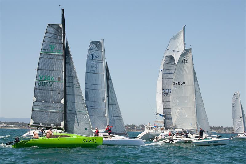 Australian Yachting Championships - Multihull fleet - photo © Alex McKinnon