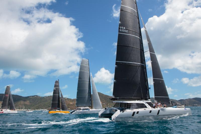 A competitive Offshore Multihull division includes the return of the Gunboat fleet to the BVI Spring Regatta - photo © Alastair Abrehart