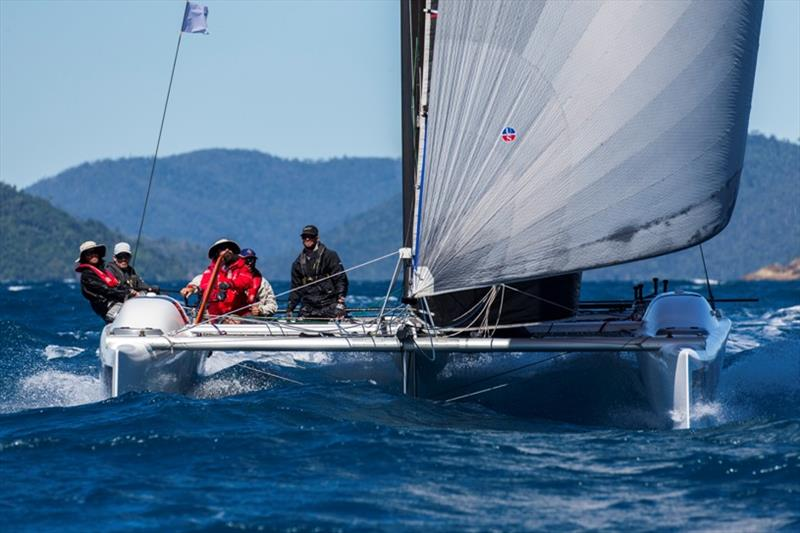 There is no slowing Ullman Sails down - 2019 Airlie Beach Race Week - photo © Andrea Francolini / ABRW