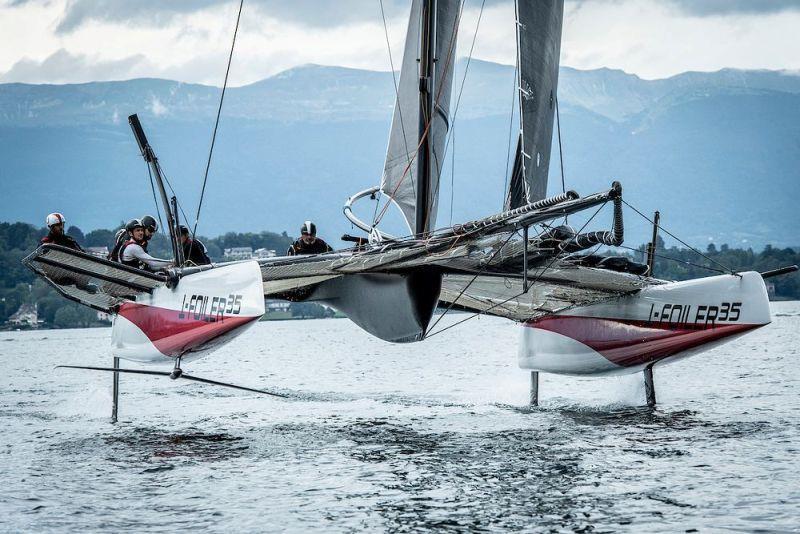 TF35 boat zero unveiled on Lake Geneva