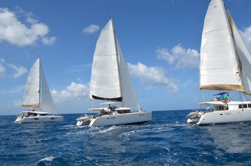 High Point Yacht Fest Catamaran Regatta in the BVI