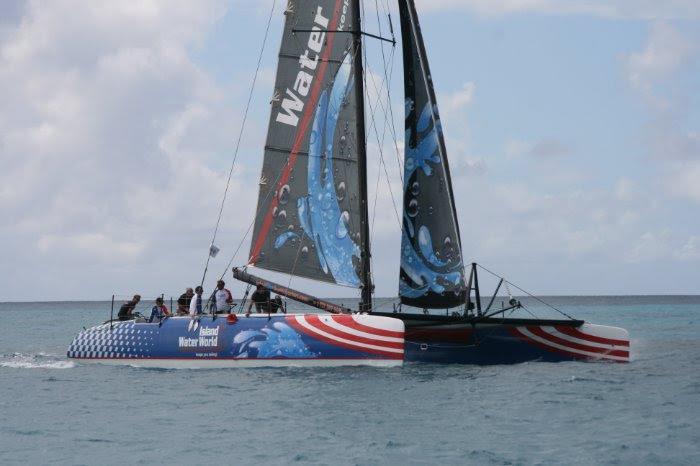 Une flotte épique de catamarans et trimarans au Caribbean Multicoque Challenge