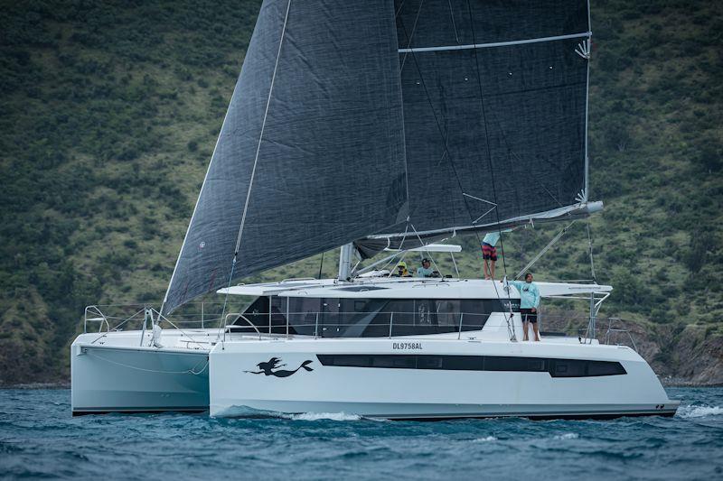 La Novia in the Caribbean Multihull Challenge - photo © Laurens Morel / www.saltycolours.com