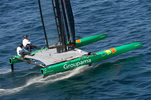 Groupaman C wins the C-Class Catamaran Championship - photo © Yvan Zedda