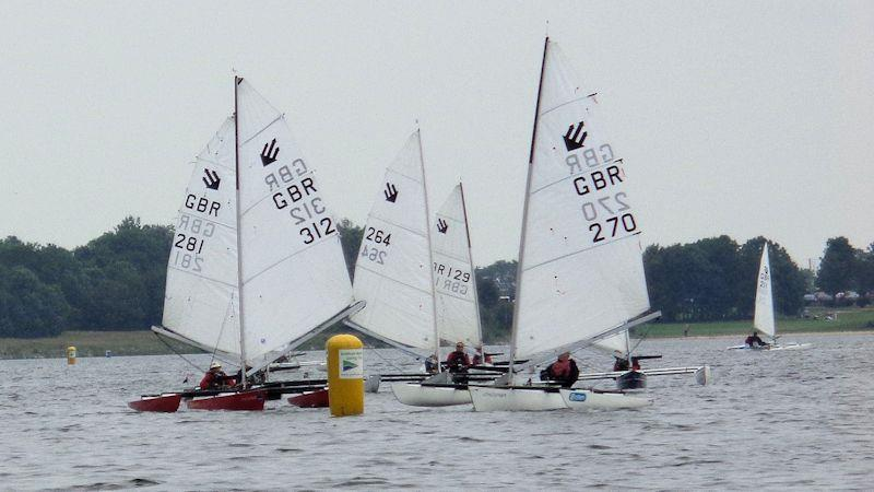 Grafham Challenger Regatta - photo © Viv Alderdice