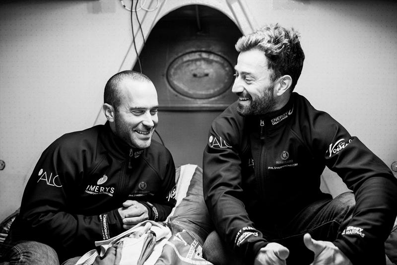 Imerys in the Transat Jacques Vabre 2017 - photo © Jean-Louis Carli