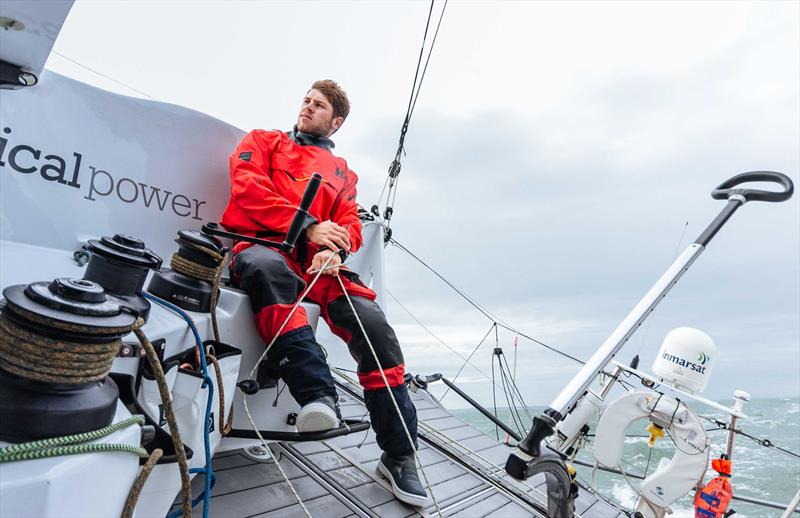 24-year-old Jack Trigger from Britain, on his first solo transatlantic, is sailing an impressive race in the Route du Rhum-Destination Guadeloupe - photo © Jack Trigger