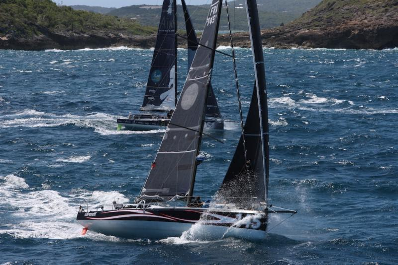 Catherine Pourre's Class40 Team racing Eärendil (FRA) will raise the Class40 Rum Barrel for the second time, winning the Class40 division - RORC Caribbean 600 - photo © Tim Wright / Photoaction.com