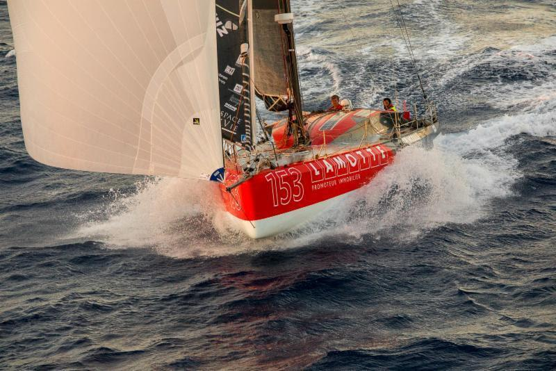 Luke Berry Class40 Lamotte - Module Création - RORC Cowes Dinard St Malo Race - photo © RORC / Tim Wright
